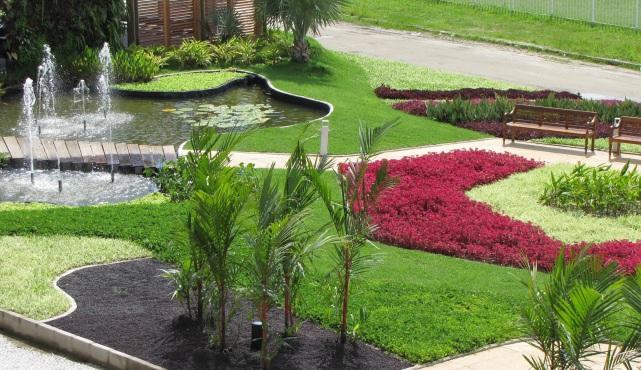 public garden design