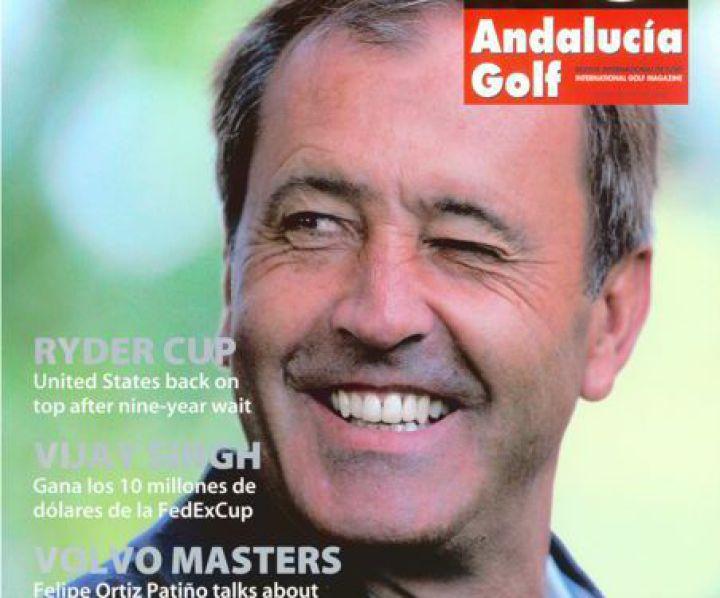 andalucia golf magazine cover